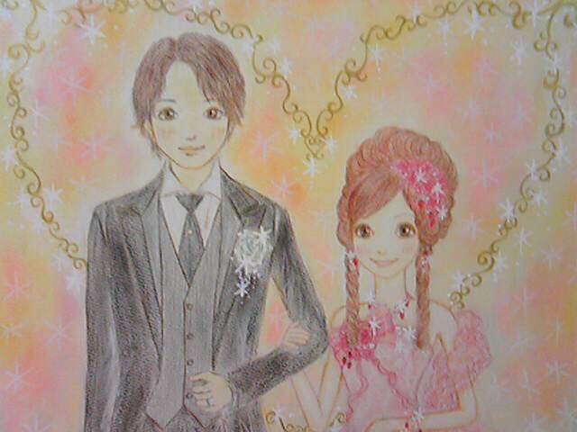 3月28日結婚式にて・ウエルカムボードお披露目です♪part1